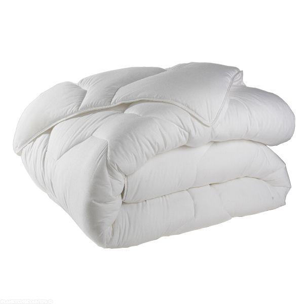 Couette anti-acariens 240x260 cm 500 gr/m² Blanc