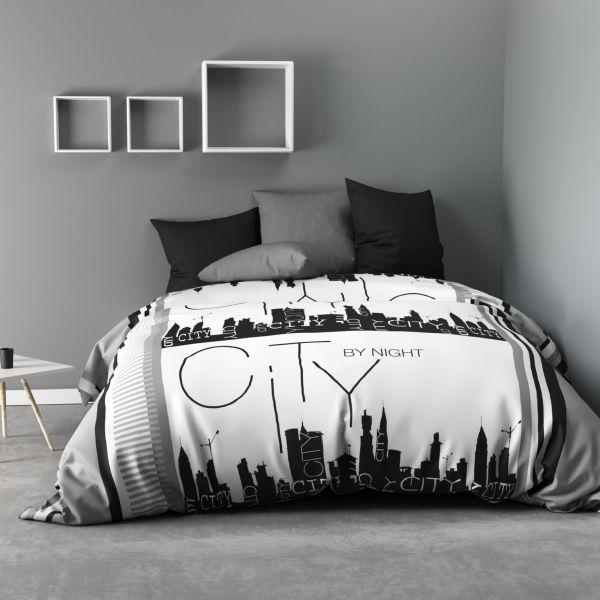 Parure de drap 240x300 cm 100% Microfibre City By Night