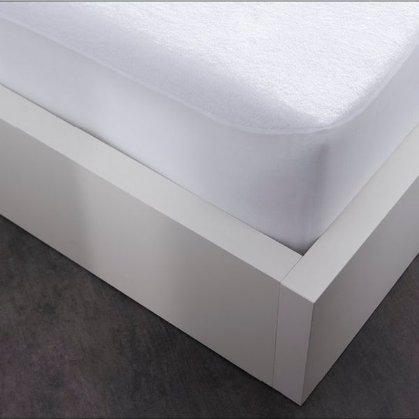 Protège matelas absorbant Cool Plus 100% Polyester Blanc