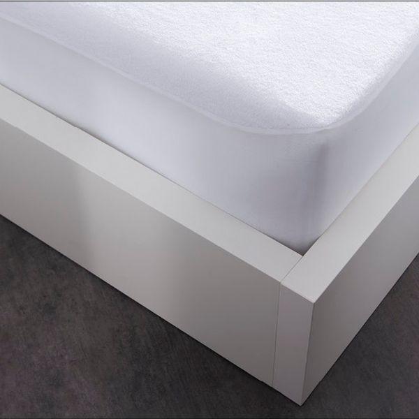 Protège matelas absorbant 100% Coton Blanc