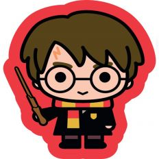 Coussin en forme de Harry Potter
