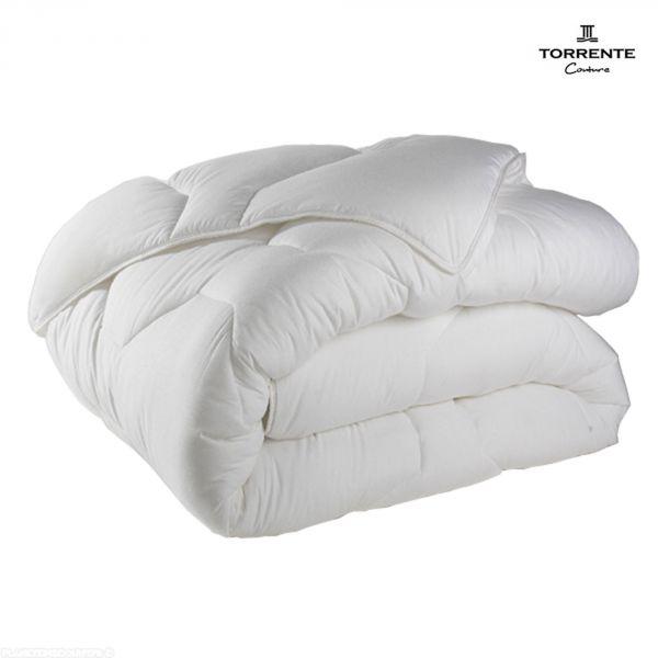 Couette toutes saisons Torrente 140x200 cm 450 gr/m² Blanc