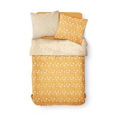 Parure de lit housse de couette avec taies d'oreiller 100% Coton 57 fils Namib