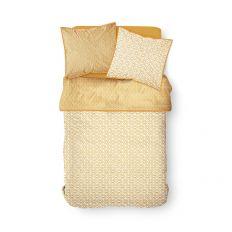 Parure de lit housse de couette avec taies d'oreiller 100% Coton 57 fils Kalahari