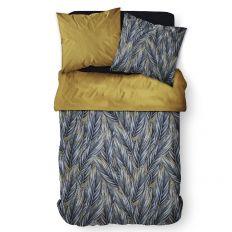 Parure de lit housse de couette Réversible avec taies d'oreiller 100% Coton 57 fils 6.15